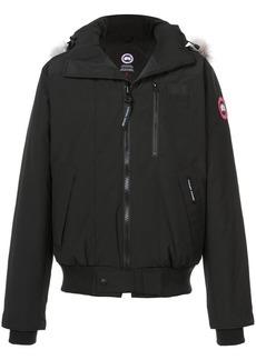 Canada Goose appliqué hooded jacket