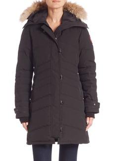 Canada Goose Arctic Tech Lorette Fur-Trim Down Parka