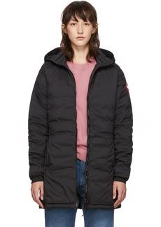 Canada Goose Black Camp Hooded Jacket