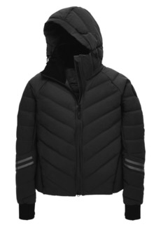 Canada Goose Black Disc Hybridge Bomber Jacket