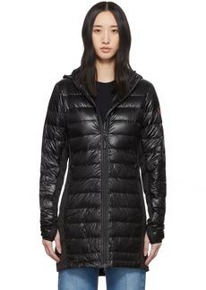 Canada Goose Black Down Hybridge Lite Coat