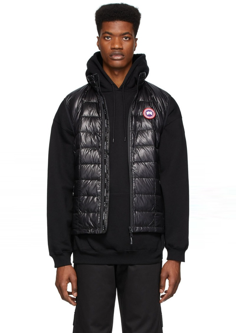 Canada Goose Black Down Hybridge Lite Vest