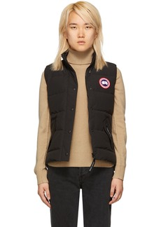 Canada Goose Black Freestyle Down Vest