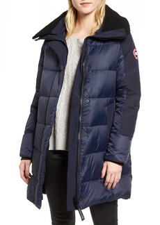 Canada Goose Altona Water Resistant 750-Fill Power Down Parka with Genuine Shearling Collar