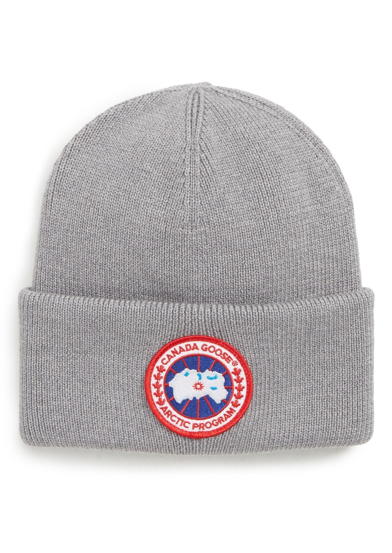 f943af72e5ea6 Canada Goose Canada Goose Arctic Disc Merino Wool Toque Beanie ...