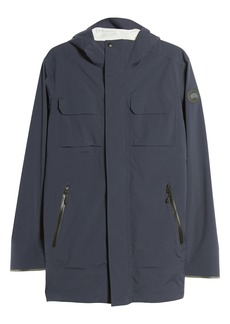 Canada Goose Black Label Wascana Hooded Rain Jacket