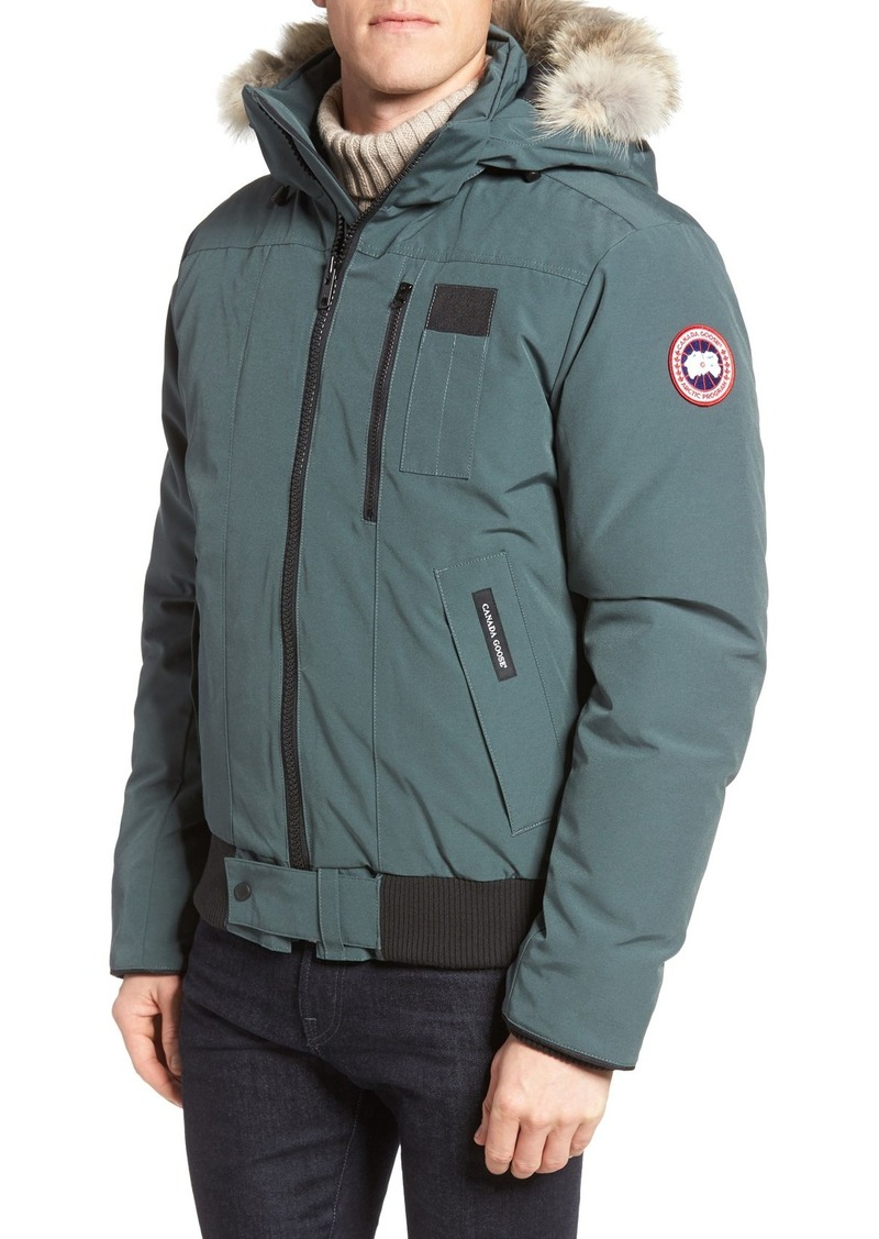 canada goose borden bomber jacket mens black. Black Bedroom Furniture Sets. Home Design Ideas