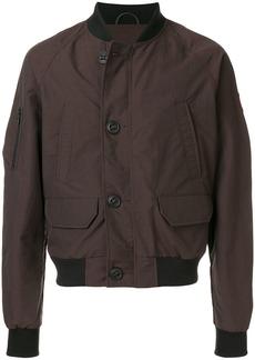 Canada Goose button bomber jacket - Brown