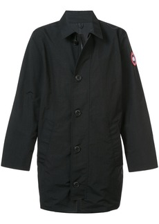 Canada Goose buttoned lightweight coat - Black
