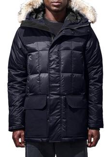 Canada Goose Black Label Callaghan Fur-Trim Down Parka