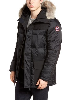 Canada Goose Callaghan Genuine Coyote Fur Trim Slim Fit Down Parka