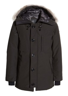Canada Goose Chateau 625-Fill-Power Down Parka with Genuine Coyote Fur Trim