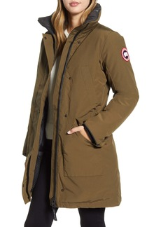 Canada Goose Ellesmere Arctic Tech 625 Fill Power Down Parka with Genuine Coyote Fur Trim