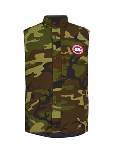 Canada Goose Garson camouflage quilted-down gilet