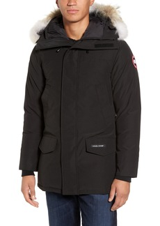 Canada Goose Langford Trim Fit Parka with Genuine Coyote Fur Trim