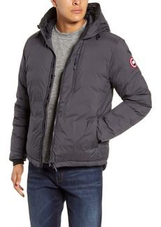 Canada Goose Lodge Packable Windproof 750 Fill Power Down Hooded Jacket