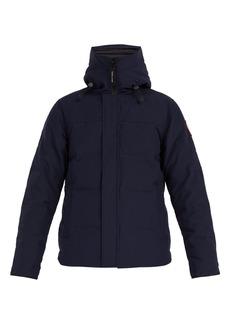 Canada Goose MacMillan hooded down jacket