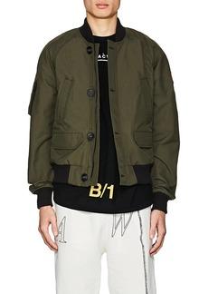 Canada Goose Men's Faber Cotton Slim Bomber Jacket