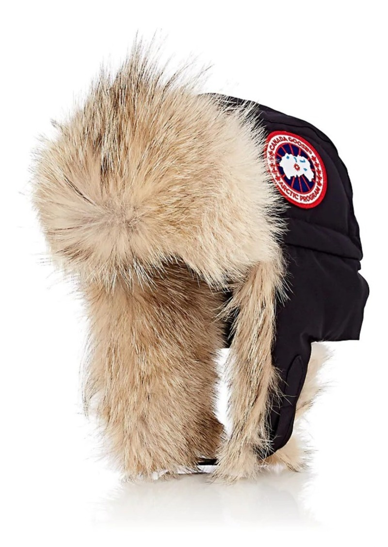 f68809cd9f66c Canada Goose Canada Goose Men s Fur-Trimmed Down-Filled Aviator Hat ...