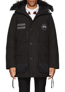 Canada Goose Men's Maccullouch Fur-Trimmed Down Parka
