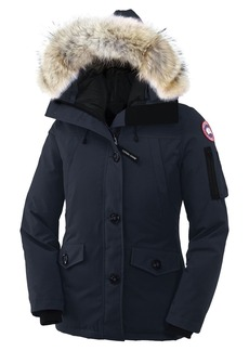 Canada Goose Montebello Slim Fit Down Parka with Genuine Coyote Fur Trim