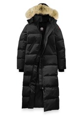 Canada Goose 'Mystique' Regular Fit Down Parka with Genuine Coyote Fur Trim