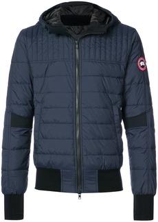 Canada Goose padded bomber jacket - Blue