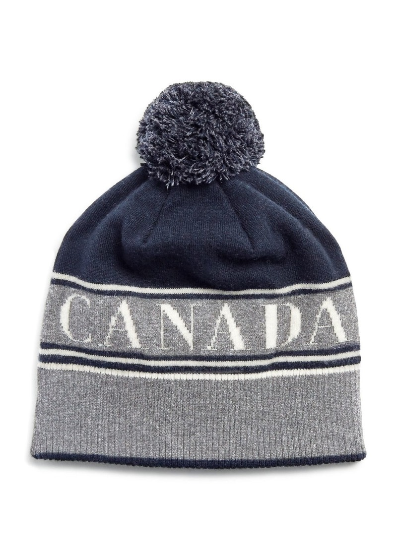 f71ff07d73c Canada Goose Canada Goose Pom Beanie Hat