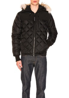 Canada Goose Pritchard Coat With Coyote Fur Trim