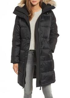 Canada Goose Rowley Down Parka with Genuine Fur Collar