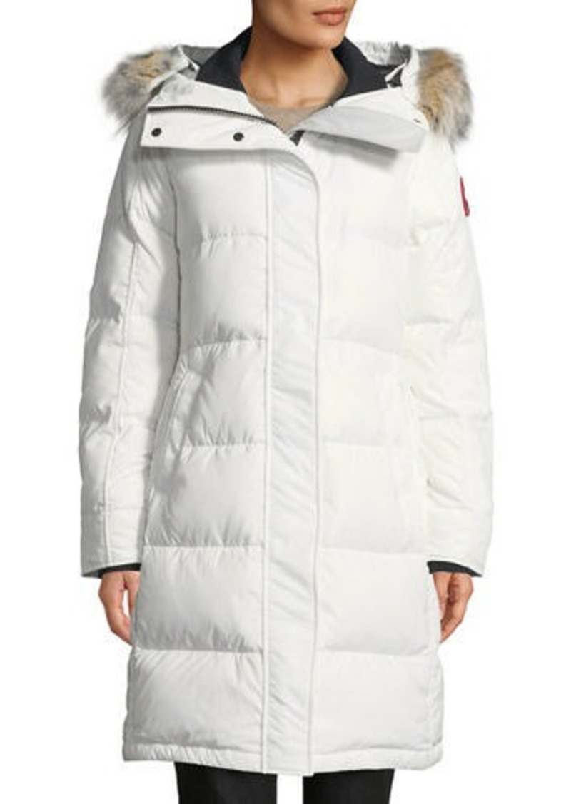 8e3543ef18 Canada Goose Rowley Hooded Quilted Parka Jacket w/ Fur Trim | Outerwear