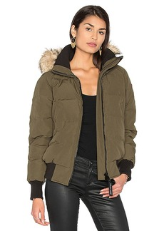 Canada Goose Savona Bomber in Army. - size L (also in XS,S,M)