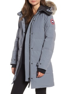 Canada Goose Shelburne Genuine Coyote Fur Trim Down Parka