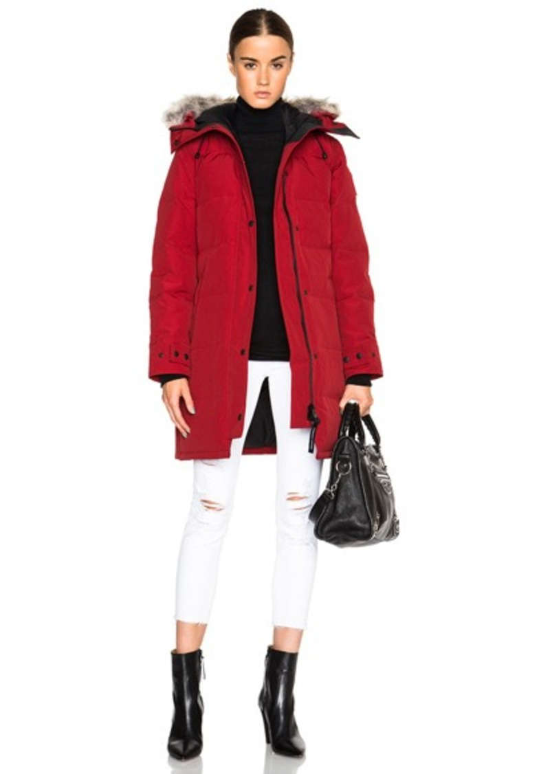 Canada Goose Canada Goose Shelburne Parka with Coyote Fur  ddb1bc5ee