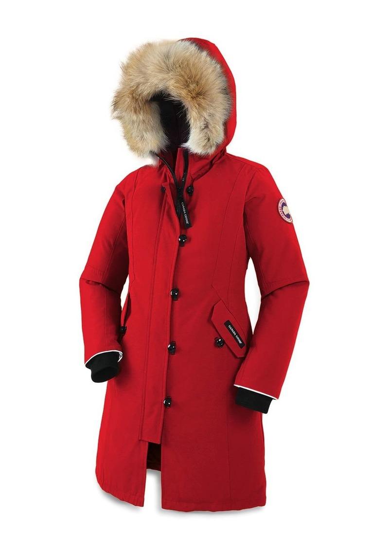 Canada Goose Unisex Fur-Trimmed Brittania Parka - Little Kid, Big Kid
