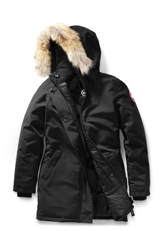 Canada Goose Victoria Fusion Fit Down Parka with Genuine Coyote Fur Trim