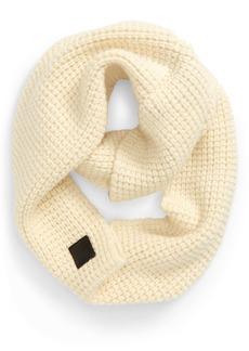 Canada Goose Waffle Stitch Wool Infinity Scarf