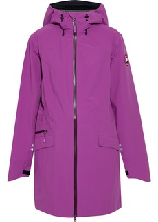 Canada Goose Woman Coastal Shell Hooded Jacket Violet