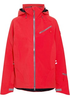 Canada Goose Woman Timber Shell Hooded Jacket Tomato Red