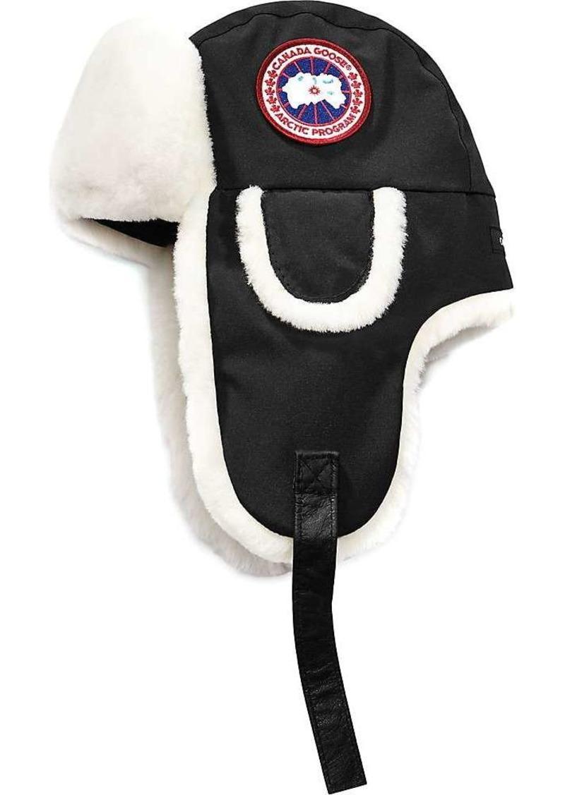 Canada Goose Women's Shearling Co-Pilot Hat