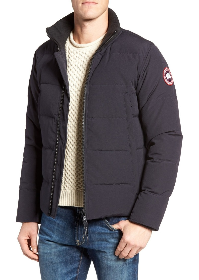 7c2bd390702 Canada Goose Canada Goose 'Woolford' Slim Fit Down Bomber Jacket ...