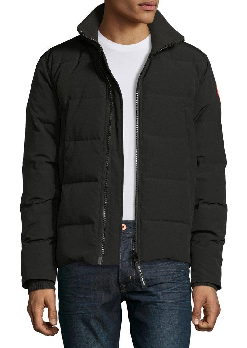 Canada Goose Woolford Puffer Jacket  Black