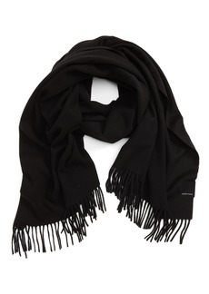 Canada Goose Woven Wool Scarf
