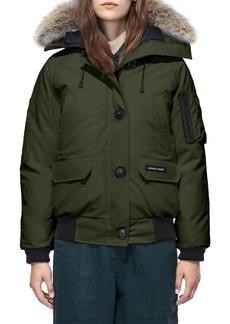 Canada Goose Chilliwack Fur Hood Bomber Jacket