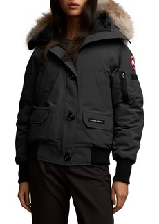 Canada Goose Chilliwack Fusion-Fit Bomber Jacket with Removable Fur