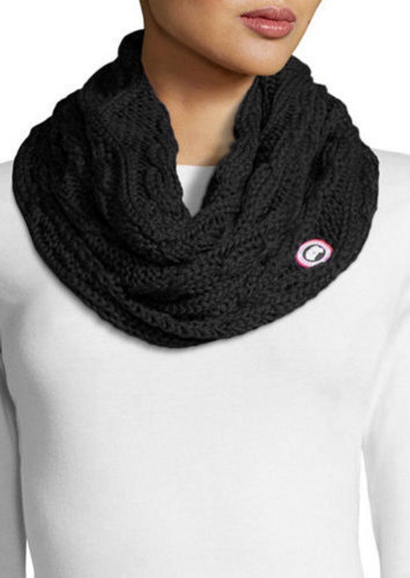 0286e8d5bea42 Canada Goose Chunky Knit Merino Infinity Scarf