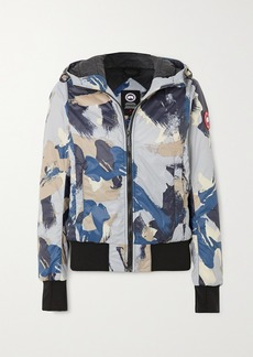 Canada Goose Dore Hooded Camouflage-print Shell Down Jacket