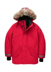 Canada Goose Edgewood Coyote Fur-Trim Down Parka