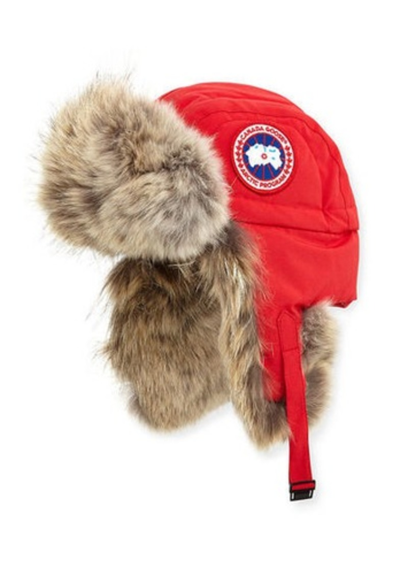 3204724c1d22f7 Canada Goose Fur Aviator Hat | Misc Accessories