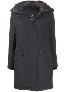 Canada Goose fur-trim hooded parka coat